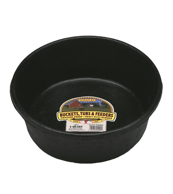 Duraflex Rubber Pan & Tub 4 qt.
