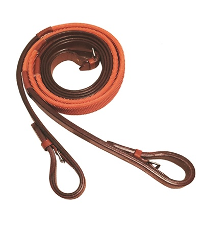 Buckle End Leather Race Reins