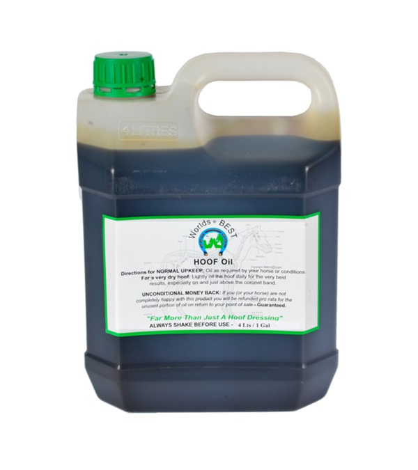 Worlds Best Hoof Oil Gallon