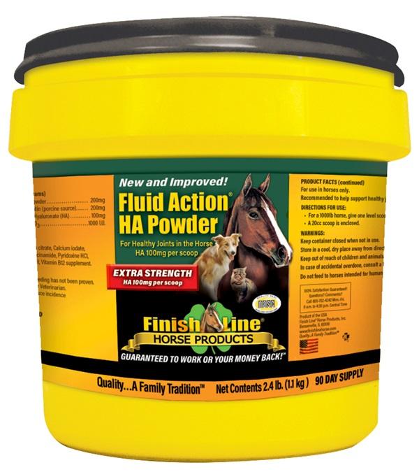 Finish Line® Fluid Action® HA Powder 2.4 lbs.