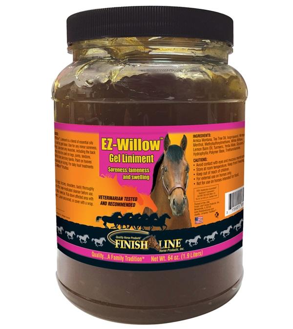 Finish Line® EZ-Willow™ Gel Liniment 64 oz.