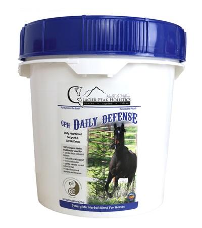 Glacier Peak Holistics Daily Defense Powder for Horses 2 lbs.