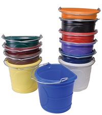 Flat Back Water Bucket 20 Qt.
