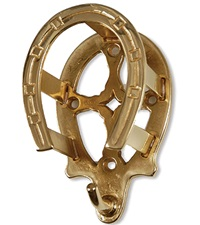 Bridle Bracket Solid Brass