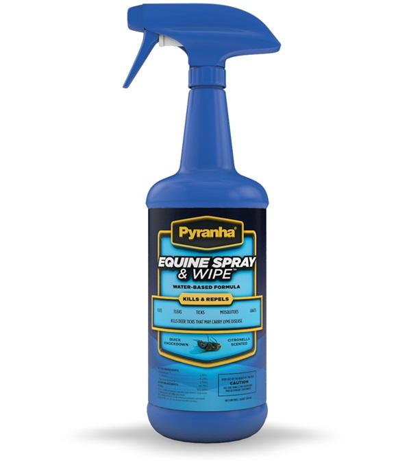 Pyranha® Equine Spray & Wipe™ 32 oz.