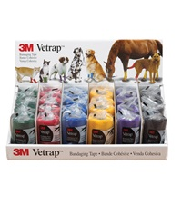 "3M™ Vetrap™ Display 4""x 5 yards"