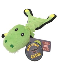 Steel Dog Bumpie Baby Gator with Tennis Ball & Rope