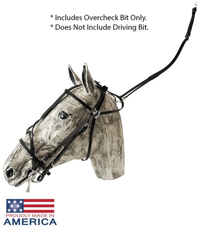 Feather-Weight® US Double Overcheck Bridle