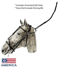 Feather-Weight® US Style Double Overcheck Bridle
