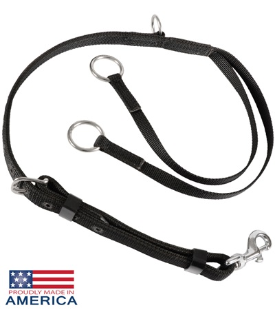Feather-Weight® Two Ring Martingale Nylon