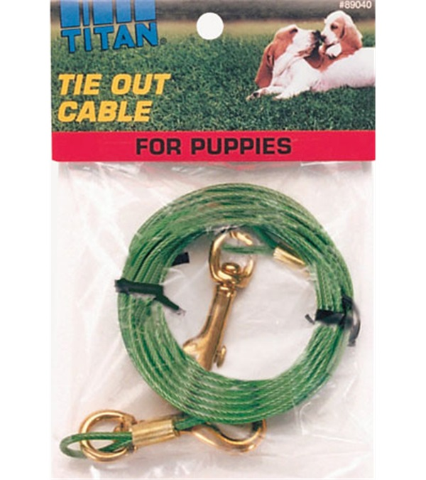 Titan® Tie Out Cable for Puppies