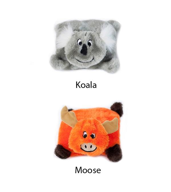 Zippy Paws Squeakie Pad Plush Dog Toys