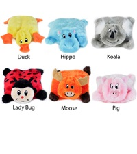 Zippy Paws Squeakie Pad Plush Dog Toys
