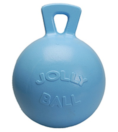 """Jolly Ball™ with Handle Blueberry Scented 10"""""""