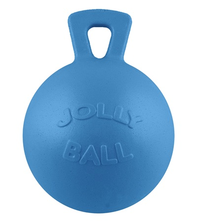 Jolly Ball™ with Handle Blueberry Scented 10""