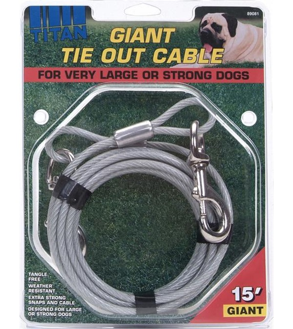 Titan® Giant Tie Out Cable