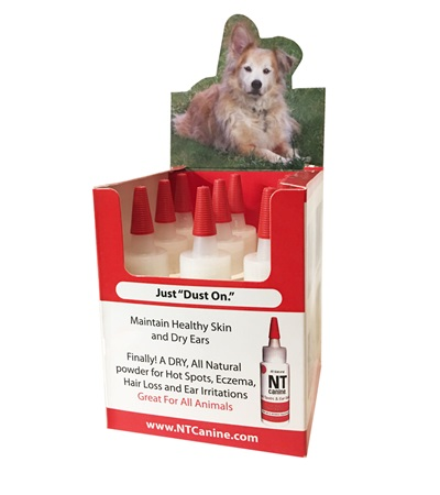 NT Canine™ Hot Spot and Ear Relief Counter Display