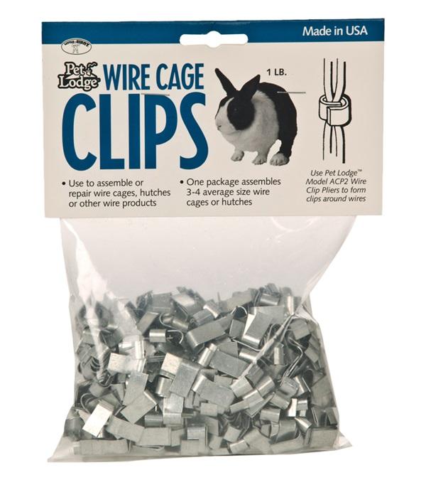 Pet Lodge™ Wire Cage Clips 1 lb. Bag