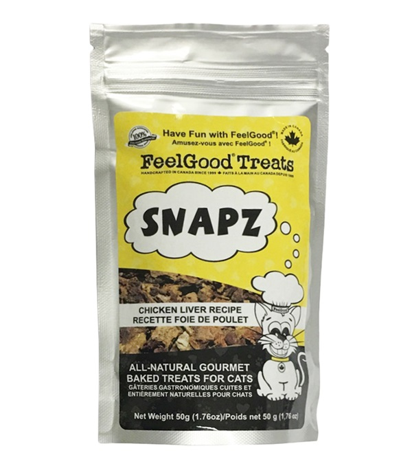 Feelgood® Liver Snapz™ for Cats 1.76 oz bag