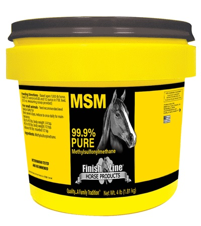 Finish Line® MSM 99.9% Pure 4 lb.