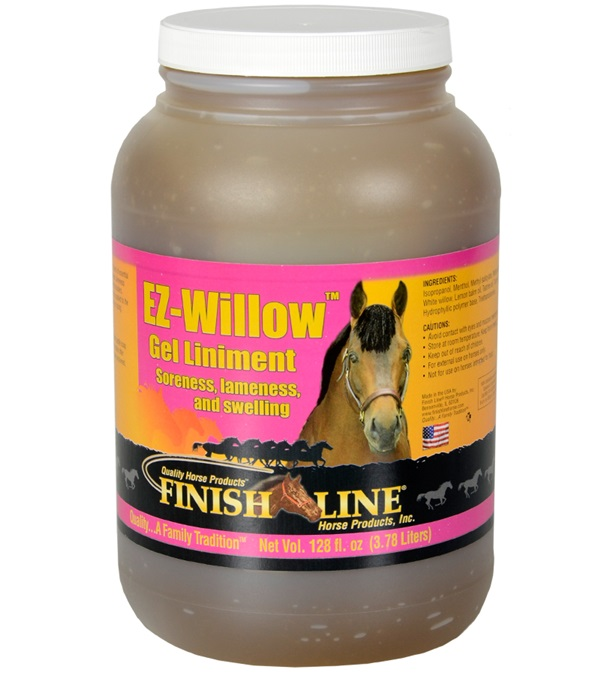 Finish Line® EZ-Willow™ Gel Liniment 128 oz.
