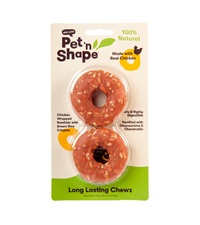 Pet 'n Shape® Long Lasting CHEWZ Chicken All-Natural Dog Treats