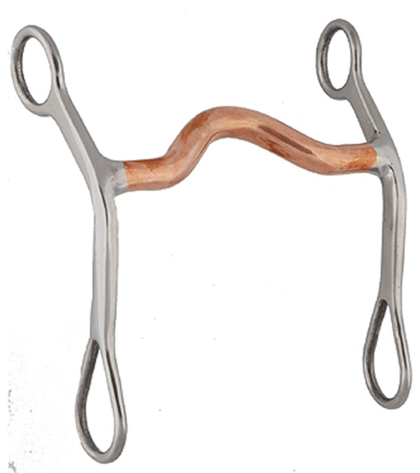 Stainless Steel Copper Mouth Curb Bit