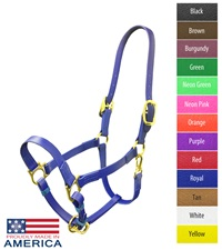 """Feather-Weight® Beta 1"""" Double Buckle Adjustable Chin Halter"""