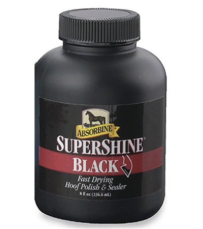 Absorbine® SuperShine® Black Hoof Polish 8 oz.