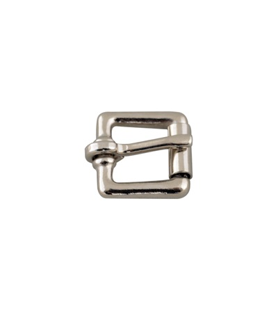 Solid Brass/Nickel Plated Roller Buckle 1/2""