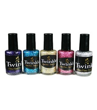 Twinkle Glitter Nail Polish for Riders