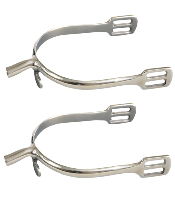 Stainless Steel No Slip P.O.W. Spurs