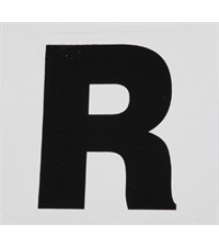 Dressage Arena Markers Replacement Letters