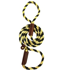 "Lone Wolf Solid (Round) 3/8"" Braided Rope Lead with Slip"