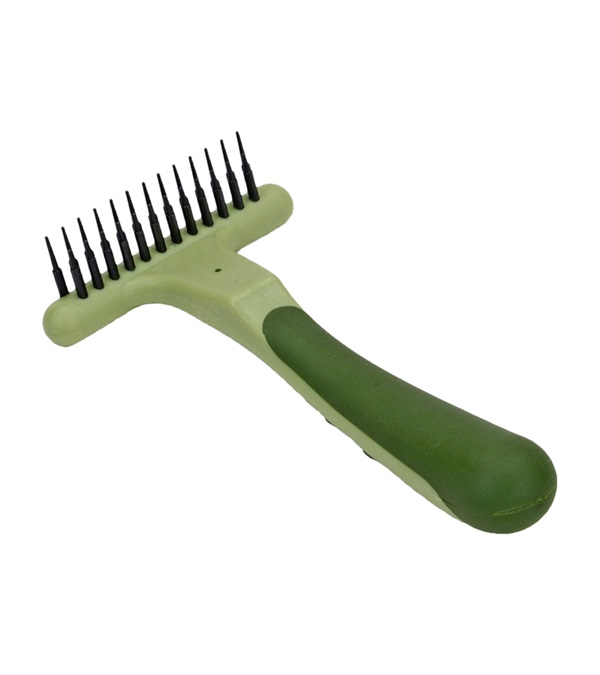 Safari® Double Row Undercoat Rake