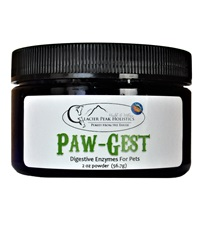 Glacier Peak Holistics Paw-Gest Digestive Enzymes Powder 2 oz.