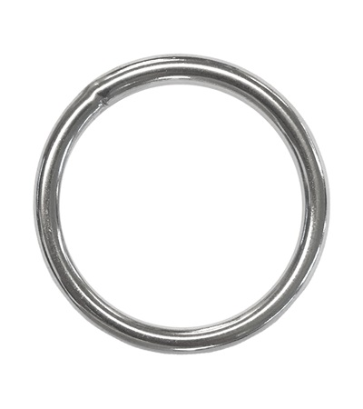 """Ring 2"""" Stainless Steel"""