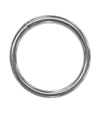 "Ring 2"" Stainless Steel"