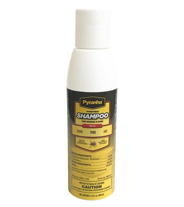 Pyranha® Pyrethrin Shampoo™ 3.4 oz.