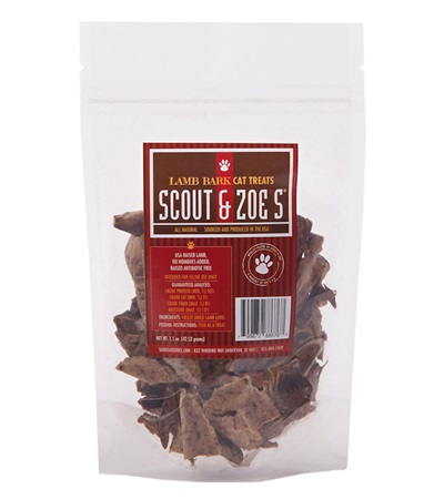 Scout & Zoe's® Lamb Lung Cat Treats 1.5 oz.