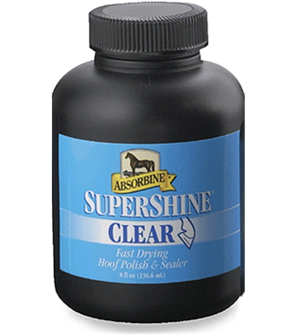 Absorbine® SuperShine® Clear Hoof Polish 8 oz.