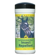 Carefree Enzymes Ear & Facial Body Wipes Insect Repellent for Horses