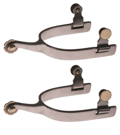 Stainless Steel Roping Spurs