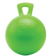 Jolly Ball™ with Handle Apple Scented 10""