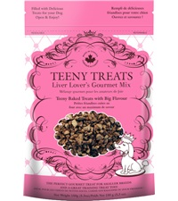 Teeny Treats Liver Lover's Gourmet Mix 5.3 oz. bag