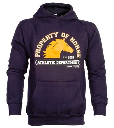 Property of Horse Hoodie - Navy Unisex