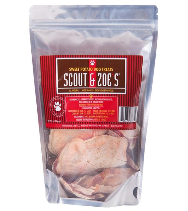 Scout & Zoe's® Sweet Potato Dog Treats 6 oz.