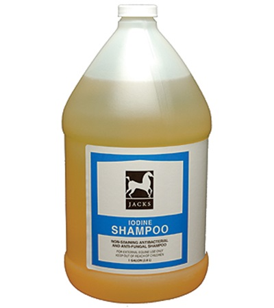Jacks Iodine Shampoo Gallon