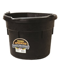 Duraflex Flat Back Water Bucket 18 Qt.
