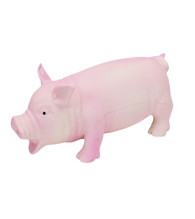 "Rascals® Latex Pig 7.5"""